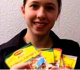 Gisela S. hatte Glück! Sie hat ein Maggi-Produktpaket gewonnen.