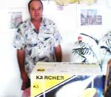 Kärcher Damppfreiniger mit Gewinn24.de gewonnen