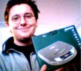 Discman mit Gewinn24.de gewonnen