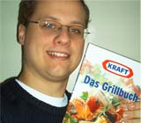 Christian A. gewinnt ein Kraft Grillbuch.
